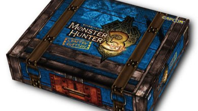 Foto de Caixa do Bundle Monster Hunter 3-Tri e Nintendo Wii