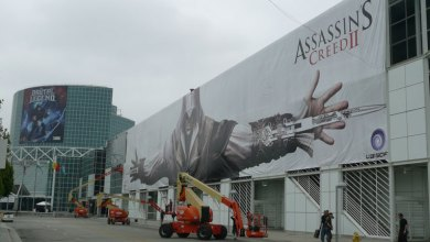 Photo of Outdoor de Assassin's Creed II na E3 2009!