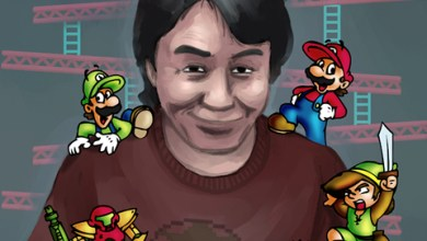 Photo of E3 2009: Miyamoto atrás das cortinas da Nintendo