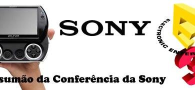 Foto de Resumo total da conferência da Sony!