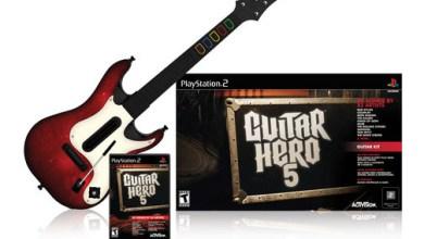 Foto de Novo Guitar Hero, nova Guitarra