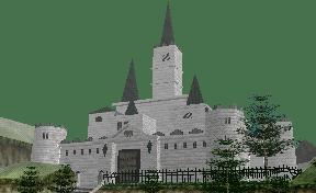 Photo of Castelo de Hyrule visto em Wii Sports Resort