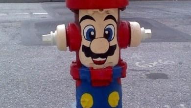 Foto de + Imagens: Mario Hidrante e Castelo Nintendo 64