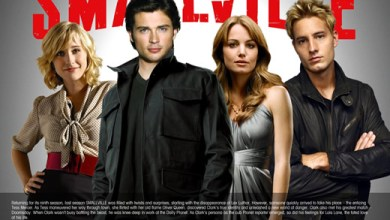 Photo of Trailer da 9ª temporada de Smallville na Comic Con