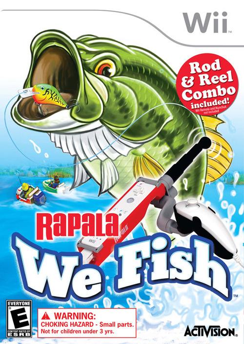 rapala we fish wii box
