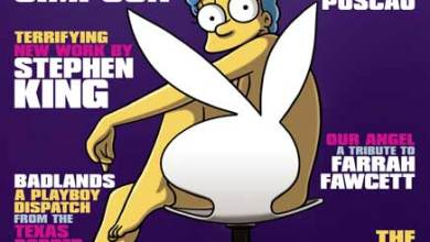 Photo of Marge Simspons será capa da Playboy em Novembro