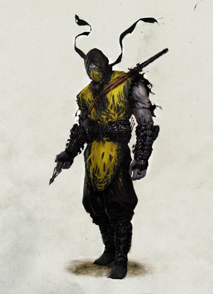 MK reboot scorpion