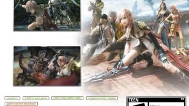 Foto de Final Fantasy XIII de Xbox 360 com Bink Video nas cutscenes e download de conteúdo. Verdade?