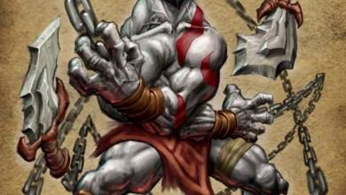 Photo of Quem poderia imaginar Kratos como um pequeno e inofensivo elfo? Bom, o diretor de arte pensou…