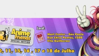 Photo of Evento: Anime Friends 2010 – Eu vou!