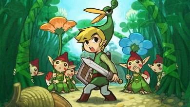 Photo of Wallpaper do dia: The Legend of Zelda: Minish Cap!