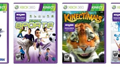 Foto de Caixas dos jogos do Kinect serão… roxas? (E3 2010)