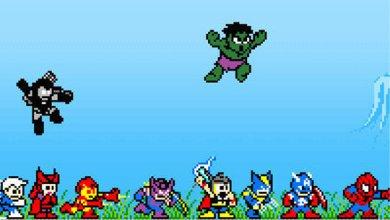 Photo of Personagens Marvel em 8 Bits! [PicArt]