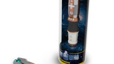 Photo of Tenha sua própria chave de fenda sônica com o novo Wiimote de Doctor Who! [Wii]