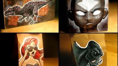 Photo of Arte em lancheiras levada ao extremo! [FanArt]