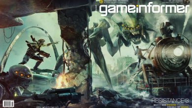 Photo of Resistance 3 na capa da Game Informer e Gears Of War 3 na capa da OXM! [PS3] [X360]