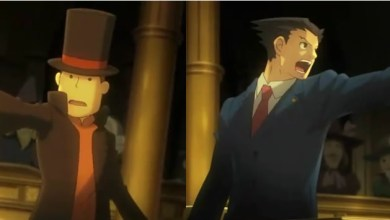 Foto de Hold it! Phoenix Wright e Professor Layton em um game só!? Quem ainda duvidava do sucesso do 3DS?