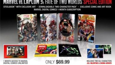 Photo of Anunciada a edição de colecionador de Marvel Vs. Capcom 3: Fate of Two Worlds! [PS3/360]