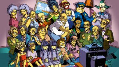 Foto de Simpsons em versão mangá? Death Note por Matt Groening?  (Fanart)