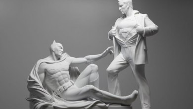 Foto de A Criação de Mauro Perucchetti: Modern Heroes ao estilo de Michelangelo! [Arte]