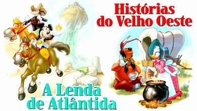 Photo of Clássicos da Literatura Disney Vol. 31/32 nas bancas! [A Lenda de Atlântida] [Histórias do Velho Oeste]