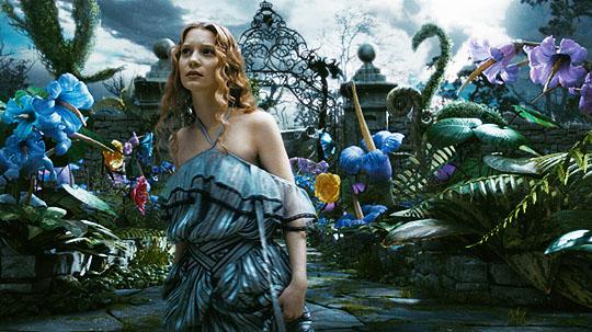 Alice No País Das Maravilhas, de Tim Burton