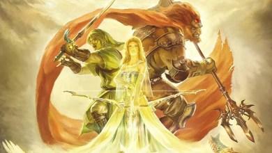 Foto de O aniversário de 25 anos da série The Legend Of Zelda confunde os games com a mais pura arte!
