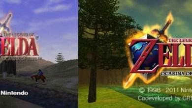 Photo of The Legend Of Zelda – Ocarina Of Time 3D: O antes e o depois do clássico do Nintendo 64! [3DS]