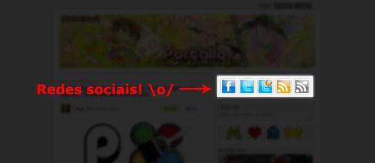 Redes sociais - Portallos