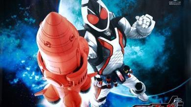 Foto de Kamen Rider Fourze vem para comemorar os 40 anos da série!