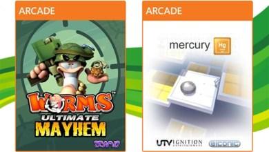 Foto de Live Arcade: Minhocas e Mercúrio nesta semana… e vamos ignorar o Baseball? [X360]