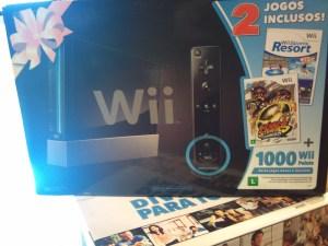 Novo kit do Wii flagrado em loja no Brasil