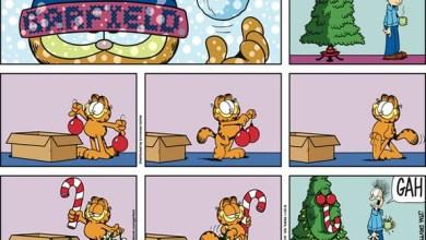 Photo of Tirinhas | Garfield em clima de natal
