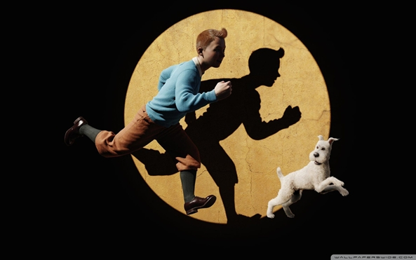 Wallpaper Adventures of Tintin