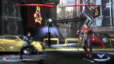 Injustice 15 minutos gameplay