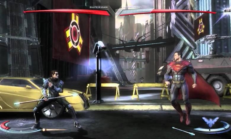 Injustice 15 minutos gameplay