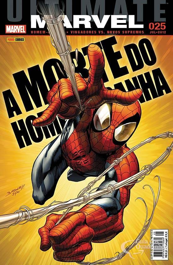 Ultimate Marvel 25 A Morte do Homem Aranha