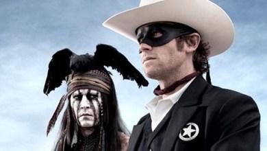 Foto de Johnny Depp e o trailer de O Cavaleiro Solitário