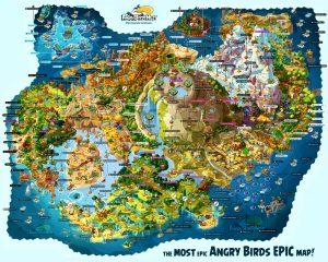Mapa Angry Birds Epic