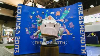 Foto de The Behemoth e o Cupcake para projeto Game4!