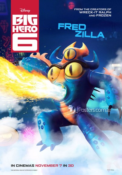 Big Hero 6 Fred Zilla