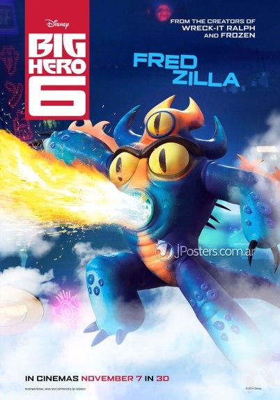 Big Hero 6 Fred Zilla