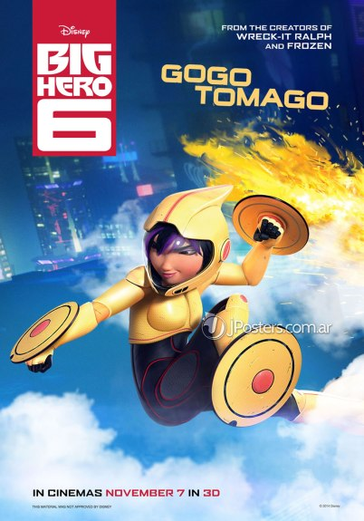 Big Hero 6 Gogo Tomago