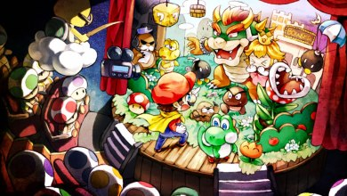 Foto de Fan Art | O Teatro de Super Mario World!