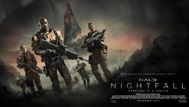 Foto de 1º trailer do seriado Halo Nightfall!