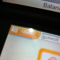 """5. Agora retorne para a tela principal do eshop e escolha o """"menu"""""""