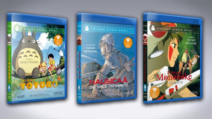 Coleção Studio Ghibli Volume 1 Blu-Ray - Capas individuais