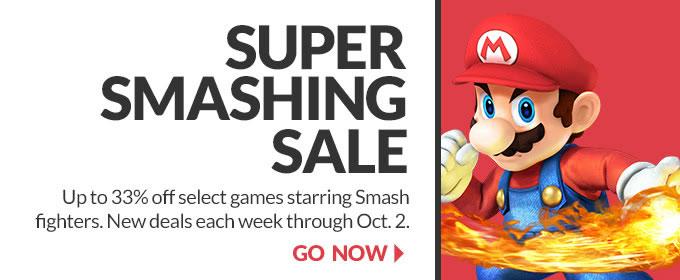Super Smashing Sale