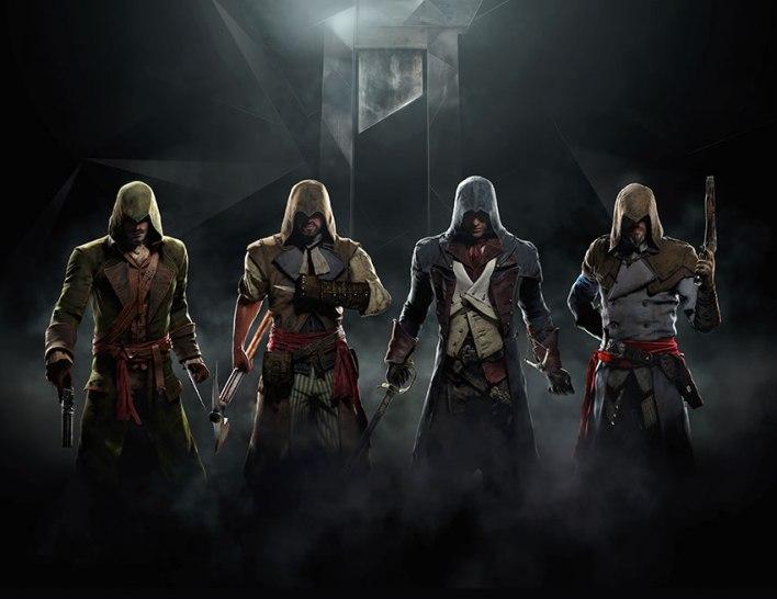 assassins creed unity art