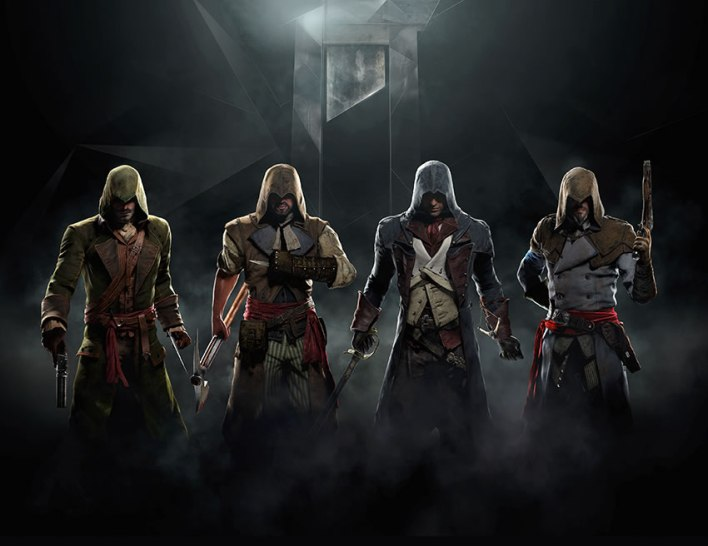 assassins creed unity art